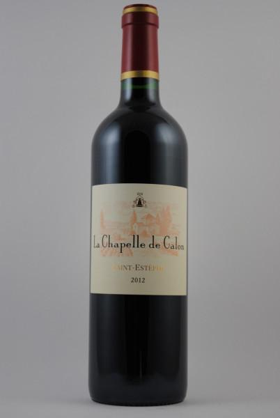 2012 La Chapelle de Calon 2e Selection du Chat. Calon Segur